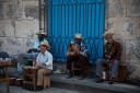 Old Cuban band
