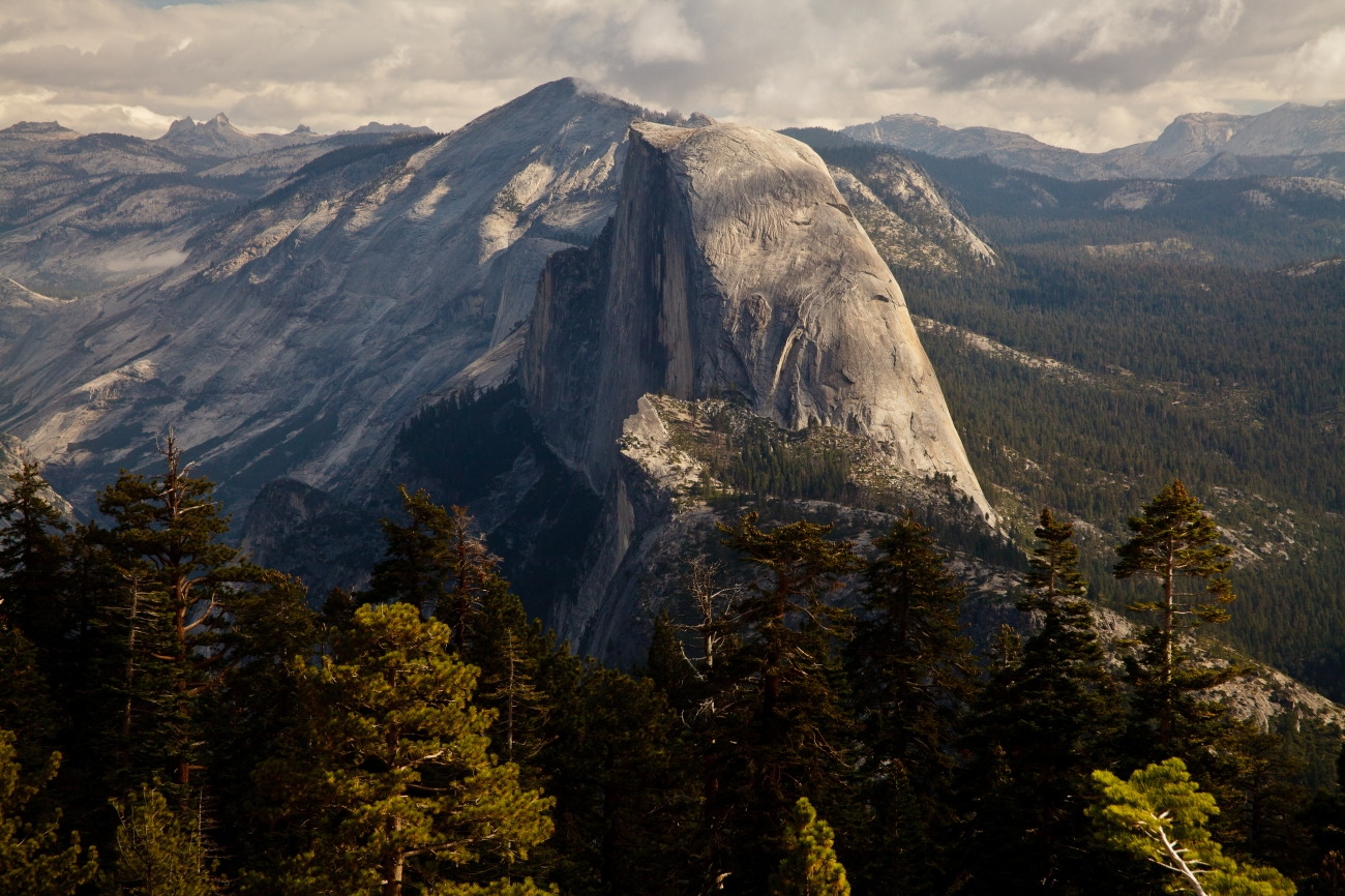 Half Dome Mountain Yosemite NP California, USA © 2010 Nick Katin