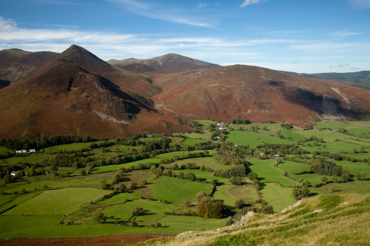 Causey Pike in the Lake district England © 2012 Nick Katin