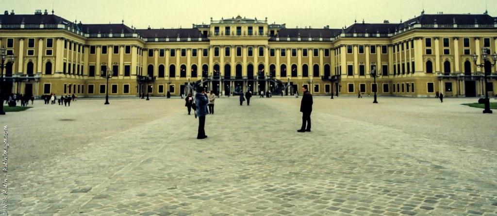 Schloss schonbrunn is the former royal summer palace is in Vienna, Austria