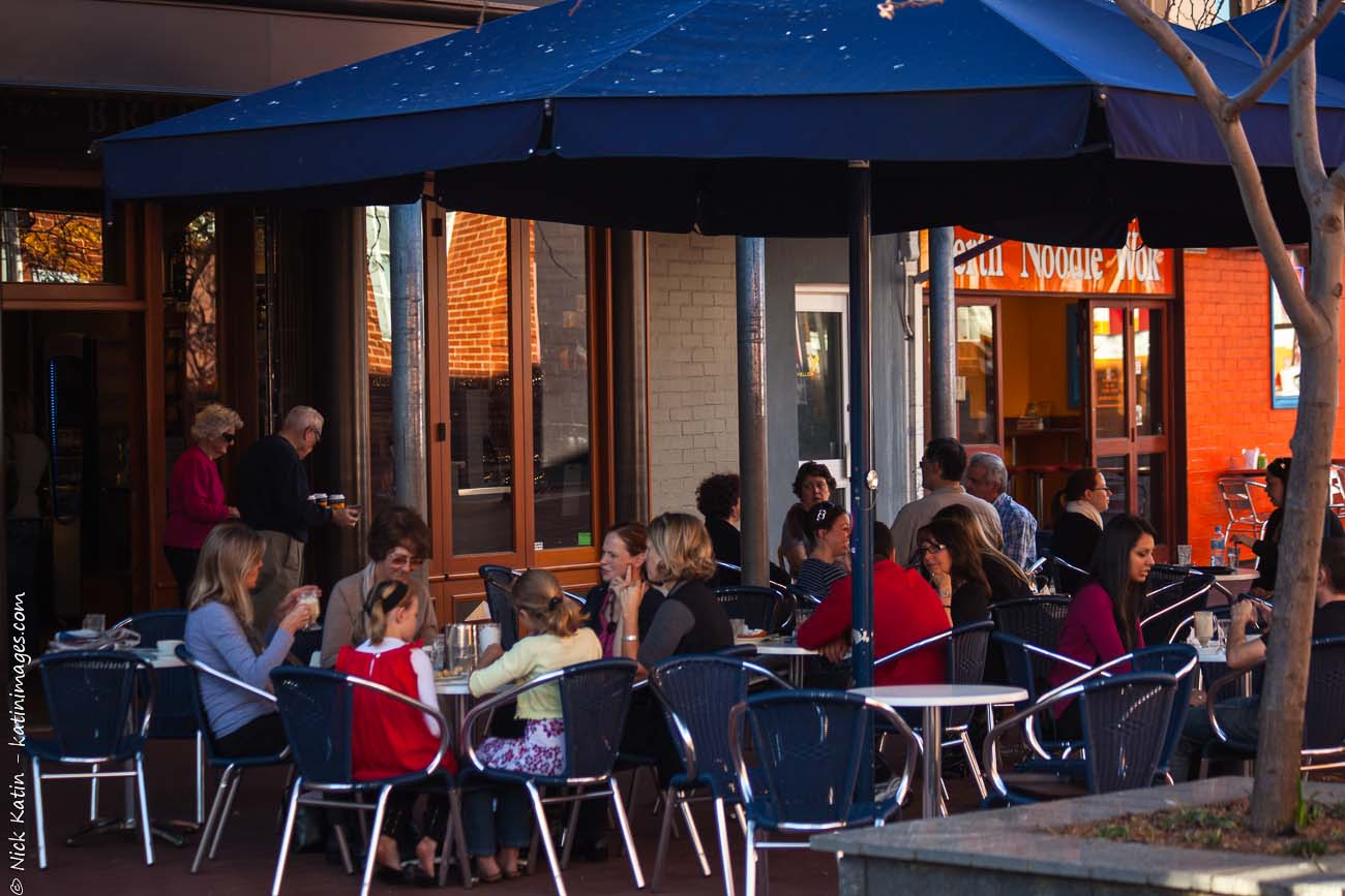 A courtyard Cafe in Subiaco, Perth