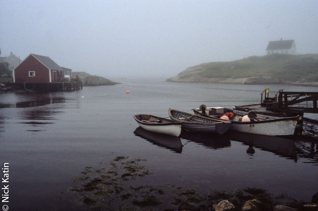The very scenic Peggy's covein Nova Scotia, Canada