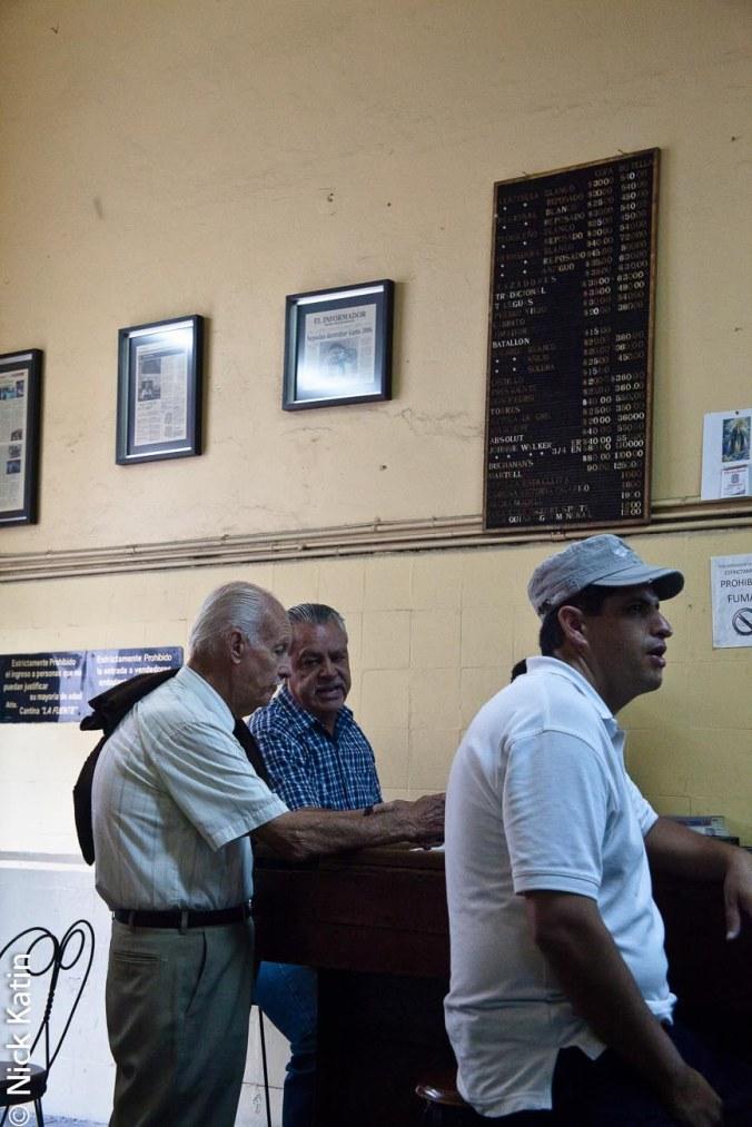 Bar La Fuente in Guadalajara, Mexico