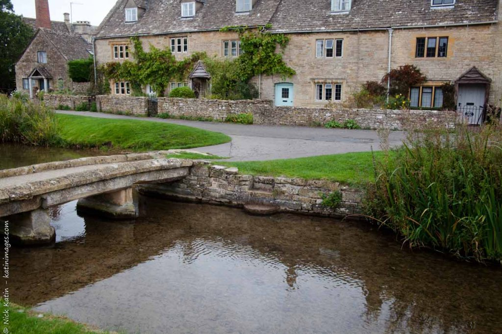 Upper Slaughter In the Cotswolds, England
