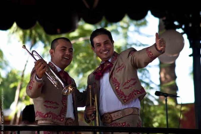 Mariachi musicians at El Parian, Tlaquepaque, Guadalajara, Mexico
