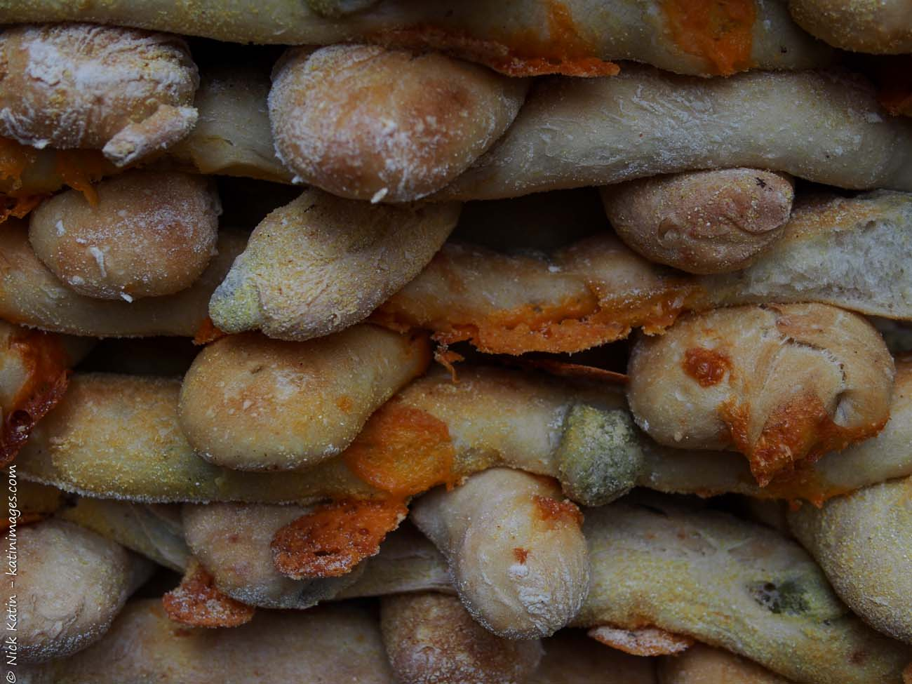 Bread Sticks at one of London's famous markets, Borough Markets