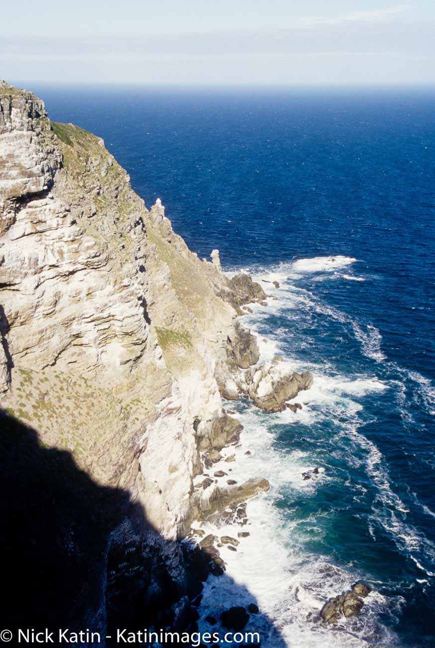The Cape of Good Cape, a rocky headland on the Atlantic coast of the Cape Peninsula, South Africa.
