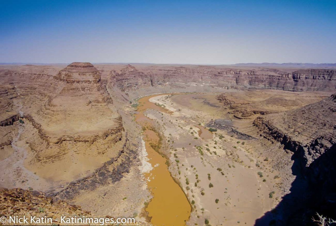 Fish river Canyon, from a lookout, Namibia