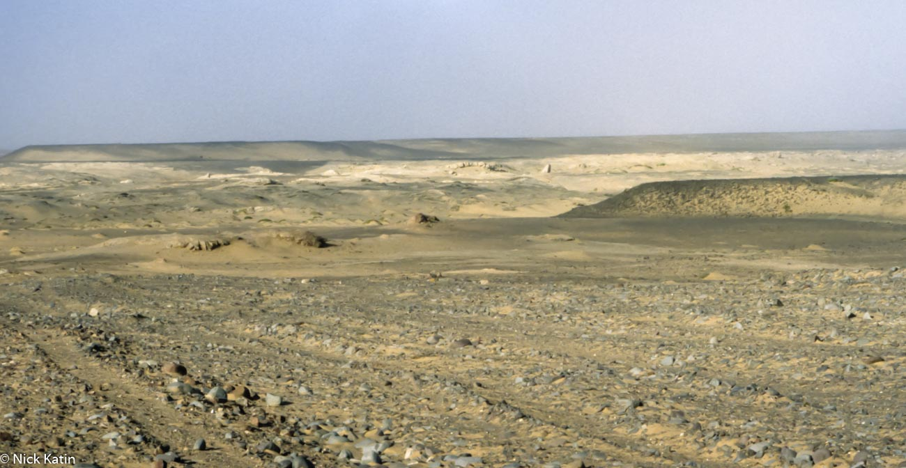 The inhospitable Skelton Coast in Namibia