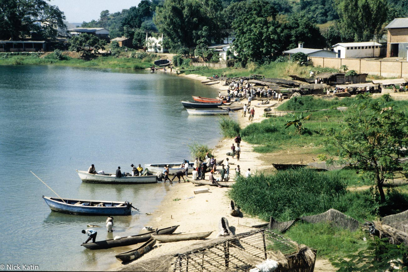 Nkhata Bay on the Lake Malawi.