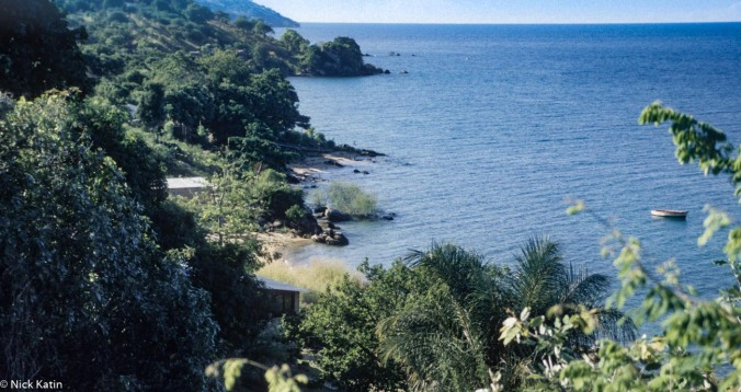 Lake Malawi's eastern shore