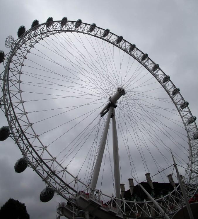 The London Eye 0n London's Southbank, England