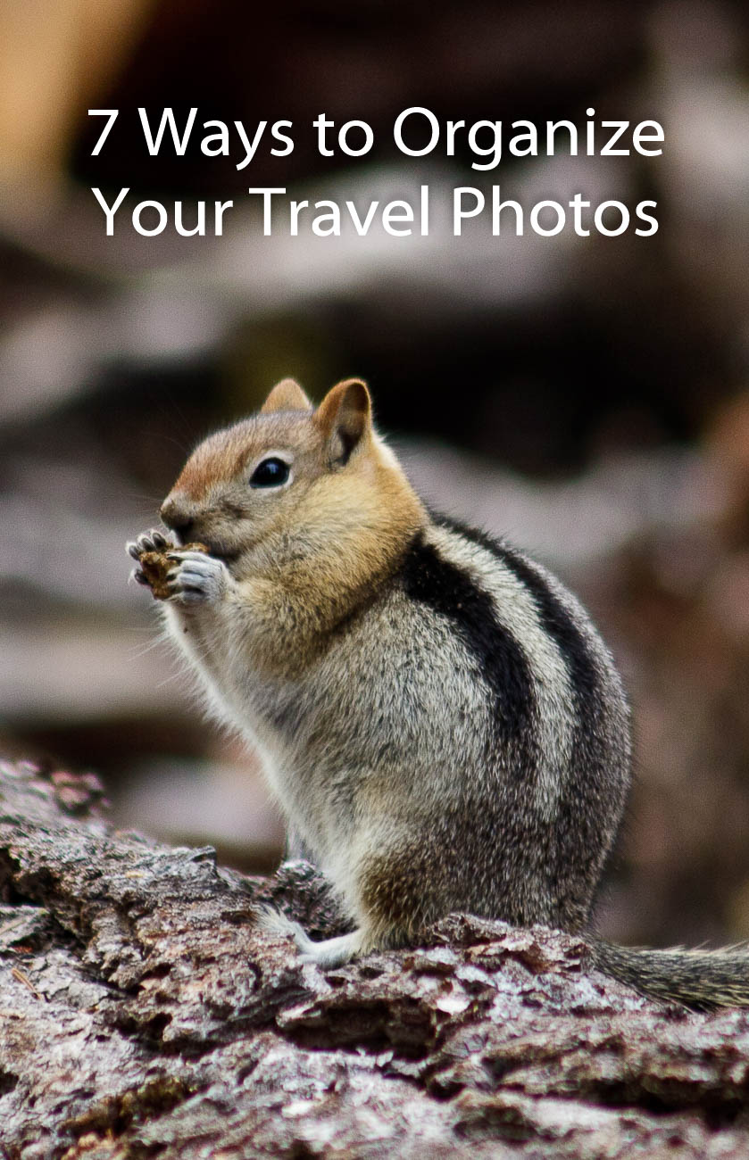 7 Ways to Organise Your Travel Photos