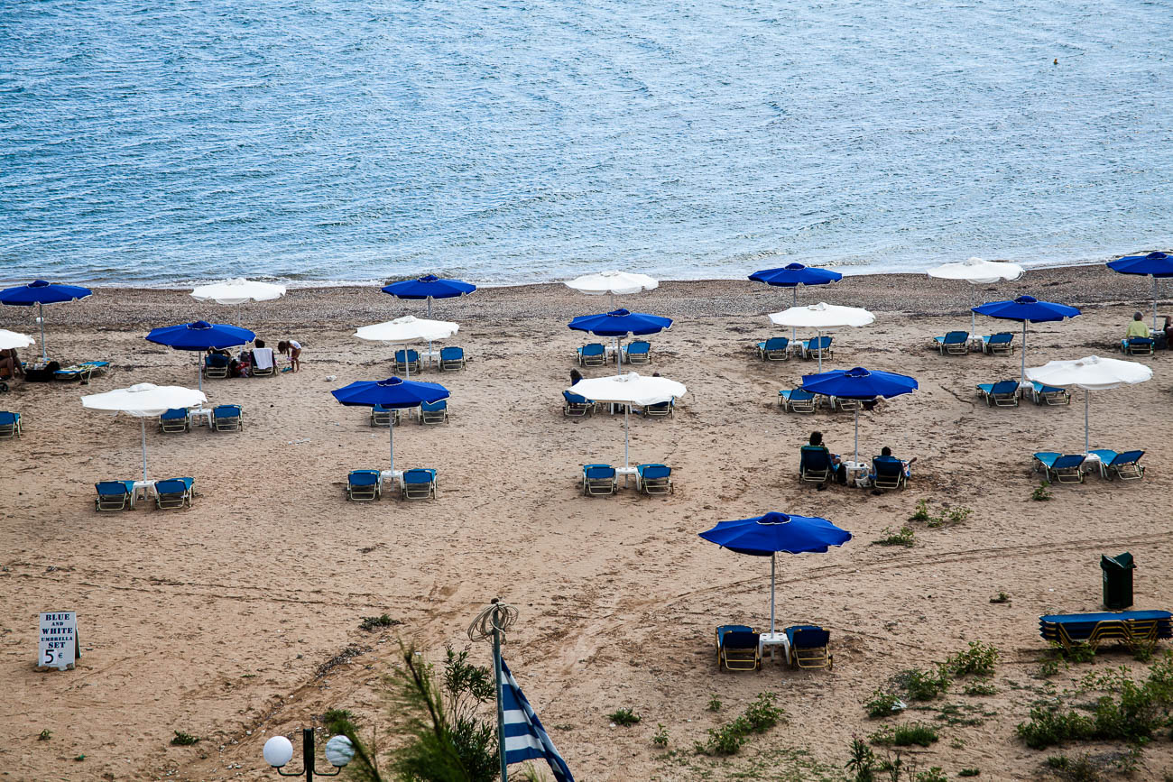 travel survival guide for photographers. Katelious beach in Kefalonia
