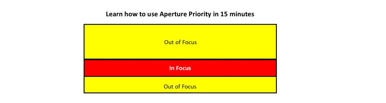 Learn how to use aperture priority in 15minutes