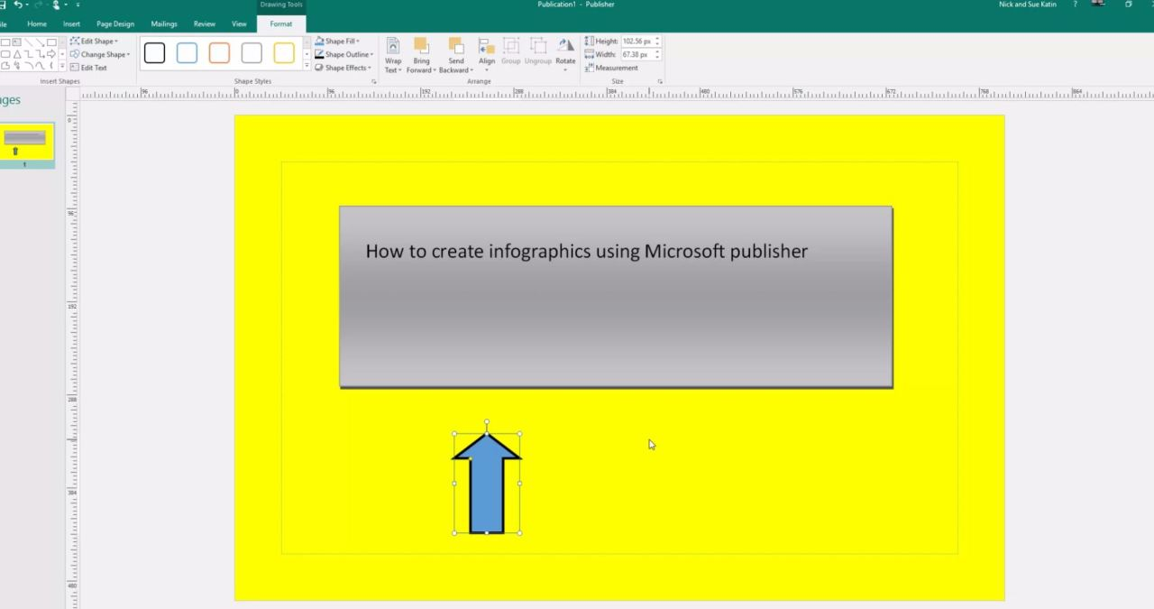 How to create great infographics using Microsoft publisher