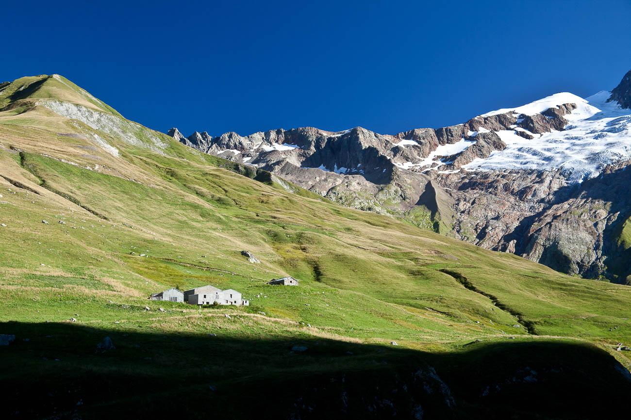 Refuge des Monttes, Vallee des Glaciers, near Les chapieux, France