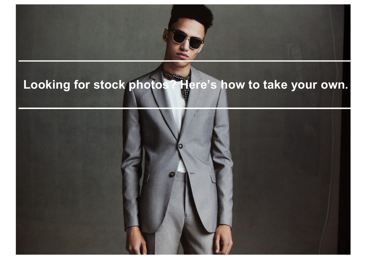 Looking for stock photos? Here's how to take your own.