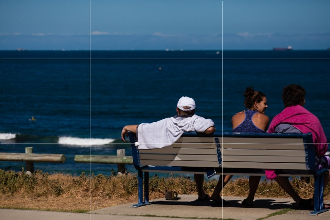 How to use the rule of thirds for stock photography