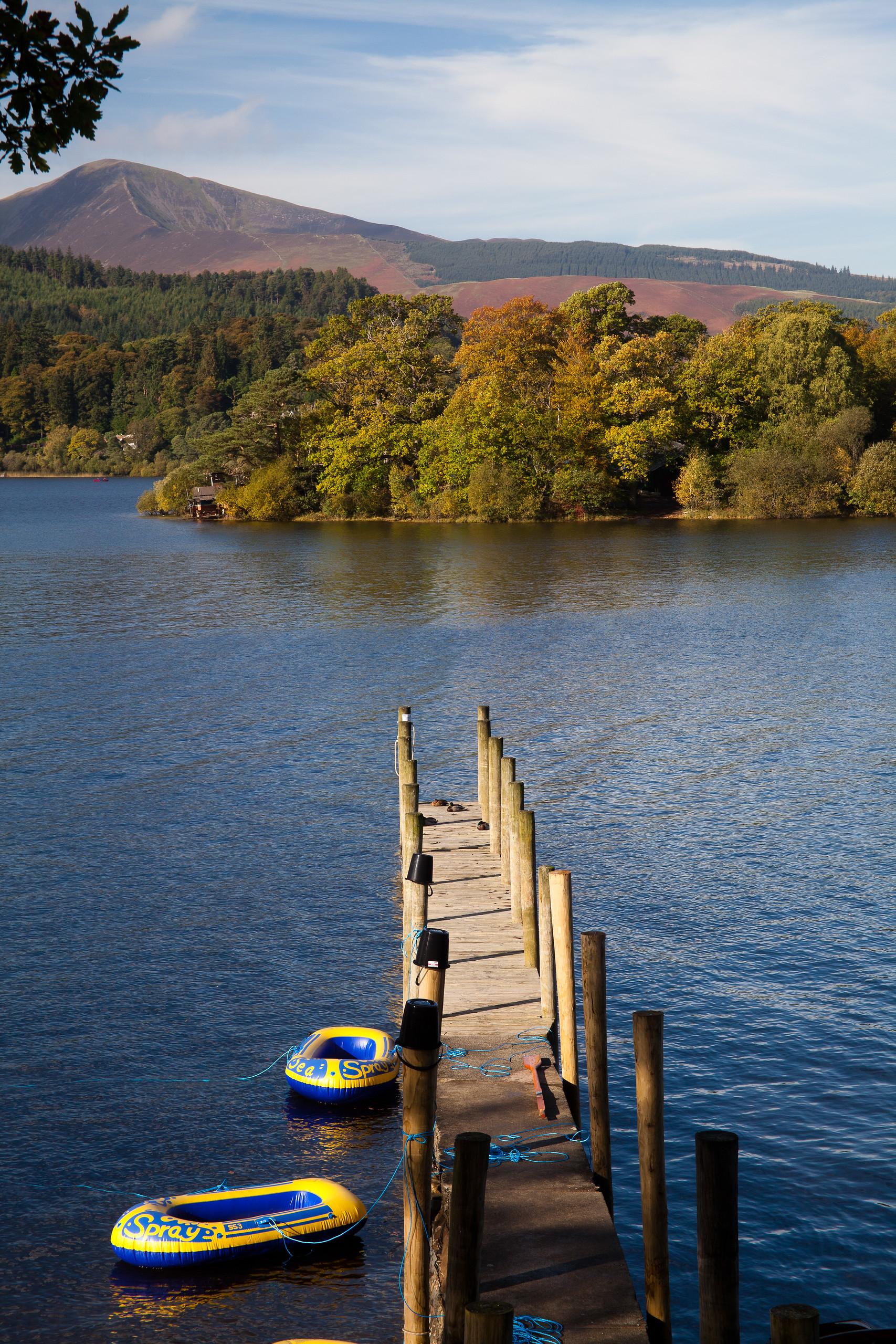 Derwentwater, Keswick, Lake District, England