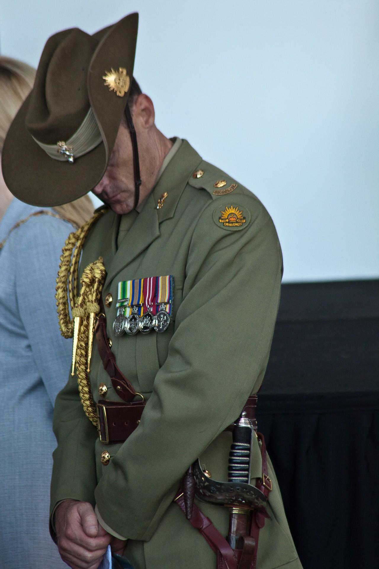 Soldier & medals